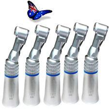 5pcs Dental Slow Low Speed Handpiece Push Button Bur for Lab E-type Motors