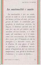 C061-CARTOLINA POSTALE PATRIA UMANITA' A BENEFICIO DELLA LANA X I COMBATTENTI1WW