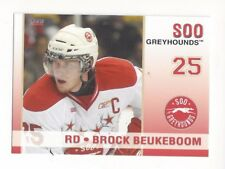 2010-11 Soo Greyhounds (OHL) Brock Beukeboom (Greenville Swamp Rabbits)