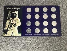 Shell 'Man In Flight' Vintage Coin Set - 1970s - Complete Set