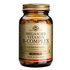 Solgar Megasorb Vitamin B-Complex Tablets 100