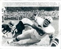 1969 Green Bay Packers Travis Williams Run VS Atlanta Falcons Press Photo