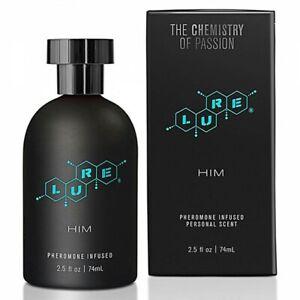 Lure Black Label Perfume Pheromones For Him 74ml Pheromone Men to Attract Women