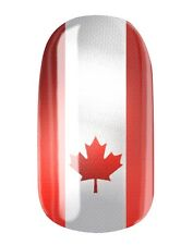 NAGELFOLIEN KANADA FLAGGE - CANADA FLAG NAIL WRAPS by GLAMSTRIPES 0429