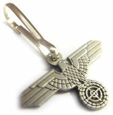 German Germany WW2 Sniper SCOPE Marskman Eagle Military Army Zipper Pull Clip