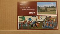 Postcard unposted Sussex, Battle of hastings, battle field