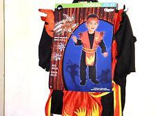 Boy Toddler 2T Ninja Fighter Halloween Costume