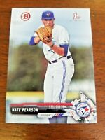 NATE PEARSON 2017 1st BOWMAN DRAFT BASE CARD BD-119 TORONTO (FIRST ROOKIE)
