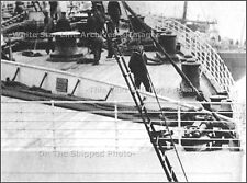 Photo: RMS Titanic - Rare New Find: Only Known View Of Ship's Forecastle Deck