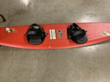 VINTAGE O'Brien Buzz 55 inch 140 cm Wakeboard with Open Toe Boots and Bindings