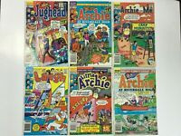 ARCHIE CANADIAN PRICE VARIANT LOT 1986-1988 | JUGHEAD; LAUGH; LITTLE; RIVERDALE