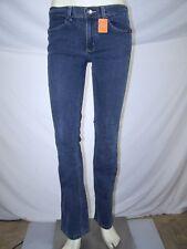 Lowrider Blue 2 Pocket Boot Cut Zipper Button Denim Jeans Juniors Size 11 Large
