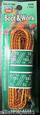 """72"""" Boot and Work Shoelaces (GOLD/TAN) R098 Boot Laces, Shoe Laces, Hiker Laces"""