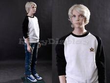Preteen/Teen Fiberglass Mannequin Dress Form Display #Mz-Sk05
