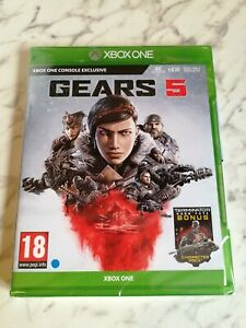 Gears of War 5 Xbox one NEW SEALED + Terminator pack