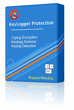 Keyboard Encryption AntiKeylogging & Anti-logger Stops Protection Software DVD