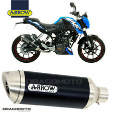 KTM DUKE 125 2013 2014 Silenziatore ARROW THUNDER ALU Nero