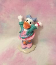 Vintage Disney Daisy Duck PVC Figure 1980's Outfit Applause