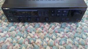 Sony FM Stereo / FM-AM Receiver Spontaneous Twin Drive STR-GX4ES BLACK