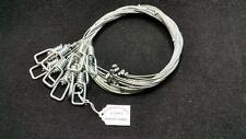 1 DOZEN 1/16 CABLE SNARE LOADED TRAPPING SURVIVAL BOBCAT SMALL GAME SNARES