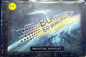 Australia BLAST OFF! 50 Years In Space Prestige Stamp Booklet