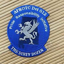 Samford University DET 012 AFROTC Award Patch Badge Dirty Dozen BLUE