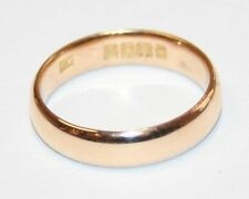 22Carat Rose Gold Fine Rings without Stones