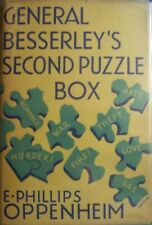 E Phillips Oppenheim, General Besserley's Second Puzzle Box, first, jacket