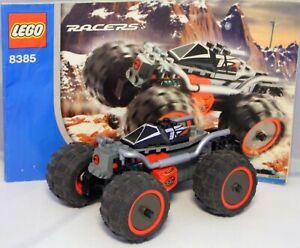 LEGO Technic Technik Racers 8385 Exo Stealth Rückzugmotor komplett +  Bauplan #7