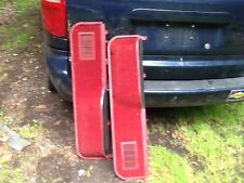 87-91 FORD F 150 f150 F-250 BRONCO DOOR PANELS PANEL-- BOTTOMS ONLY red