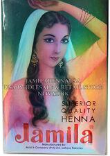 6 X 100g Jamila Henna Powder BODY ART QUALITY Skin Hair Color Dye 2015 crop