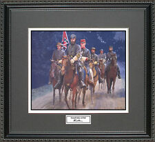 Mort Kunstler STONEWALL JACKSON AND STAFF Framed Print Civil War Wall Art Gift