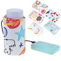 1PC USB Baby Bottle Warmer Portable Milk Travel Cup Warmer Heater Bottle C!I