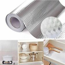 Waterproof Oil-proof Self Adhesive Aluminum Foil WallSticker Home Kitchen Decors