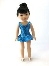 "Metallic Mermaid Bathing Suit Fits Wellie Wisher 14.5"" American Girl Clothes"