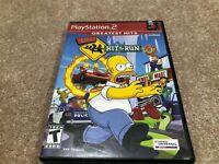 The Simpsons Hit & Run (PlayStation 2 , 2003) PS2 CIB Greatest Hits