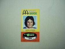 1977/78 MCDONALD'S PITTSBURGH PENGUINS PUCK BUCK #10 PIERRE LAROUCHE MCDONALDS