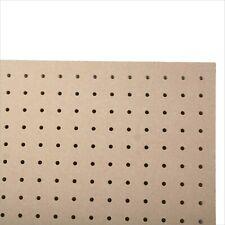 6mm MDF Wood Pegboard 600MM X 300MM, 6mm holes peg perf board Wooden Sheet