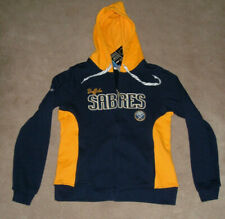 Buffalo Sabres Reebok Embroidered Full Zip  Ladies Hoodie Sz S $70 NWT NEW
