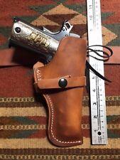 Colt Springfield Ruger Citadel Norinco 45 M 1911 Cowboy Western Leather Holster