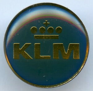 KLM Royal Dutch Airlines Pin Badge Nice Grade !!!