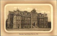 Moncton NB Aberdeen High School c1910 Postcard