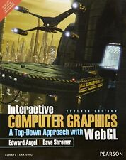 NEW- Interactive Computer Graphics :Top-Down Approach with WebGL - Angel Intl ed