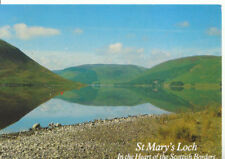 Scotland Postcard - St Mary's Loch - Heart of The Scottish Borders - Ref ZZ5583