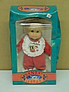 Vintage Santa's Helper 1992 Doll K-Mart Exclusive Soft-Luv New in Box