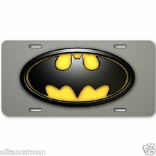 Batman License Plate Tag Aluminum Baked on Finish Cool New Vanity Dark Knight 1