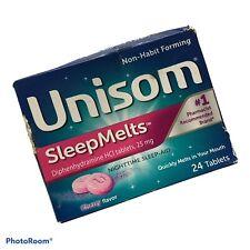 Unisom SleepMelts Cherry Flavor 24 Each