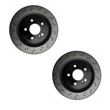 2 Mercedes Benz CLS55 AMG CLS63 AMG E55 AMG E63 AMG Disc Brake Rotor OPparts