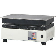 Electric thermostatic heating plate digital display preheating plate platform