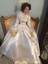 Beautiful Ashton-Drake Winter Romance Bride Doll 👰🏻COA!!
